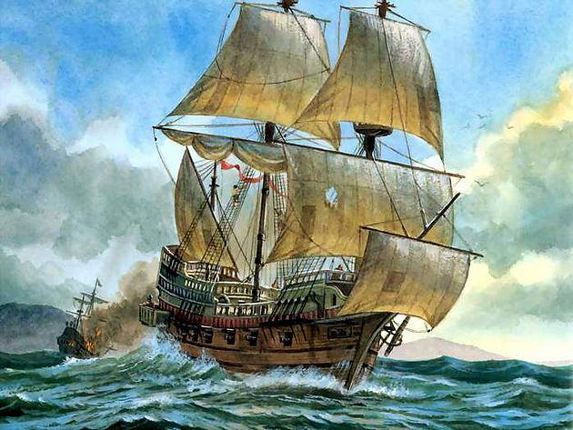 Golden Hind, le célèbre Galion de Francis Drake