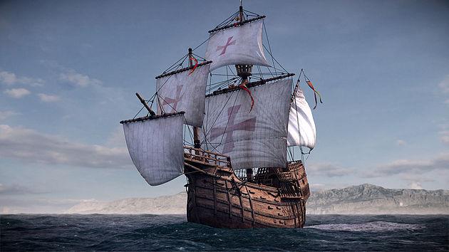 Santa María, le navire de Christophe Colomb