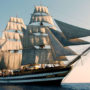 Amérigo Vespucci, le vrai navire