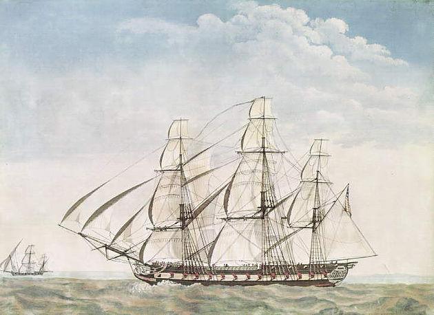 USS Essex et la naissance de la marine Américaine